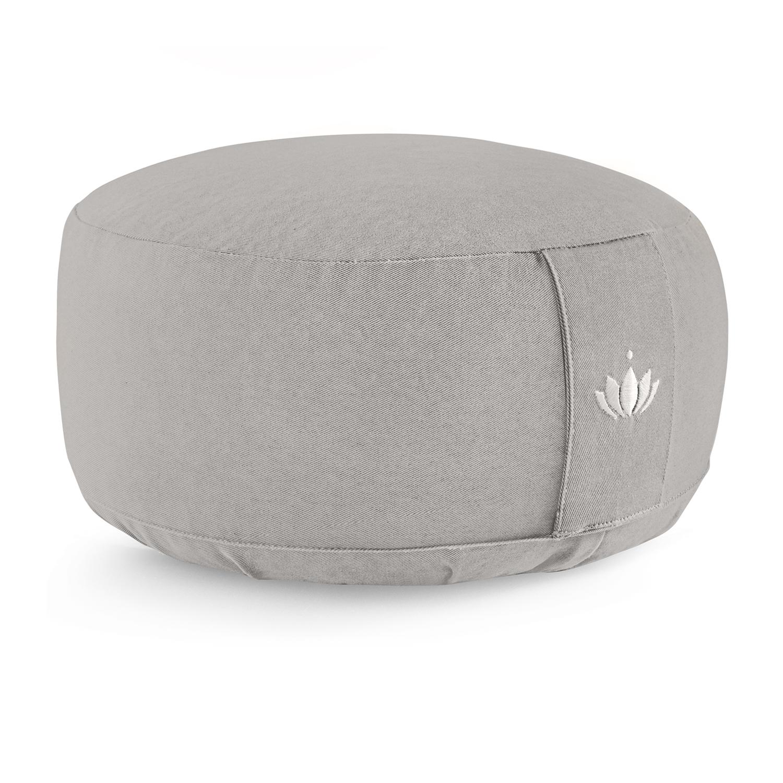 Meditationspude, 15 cm - Cementgrå